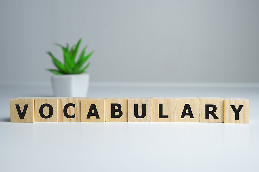 How to build your vocabulary for ESL.